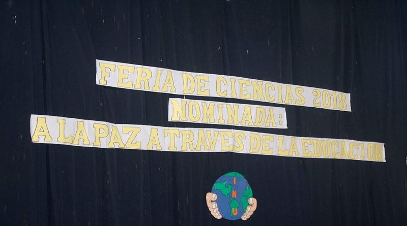 """FERIA  """"A LA PAZ ATRAVEZ DE LA CIENCIA """""""